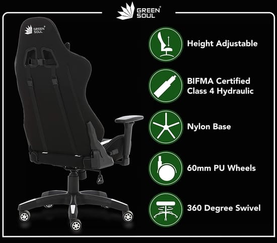 Green Soul Beast GS 600 Gaming Chair India 2021