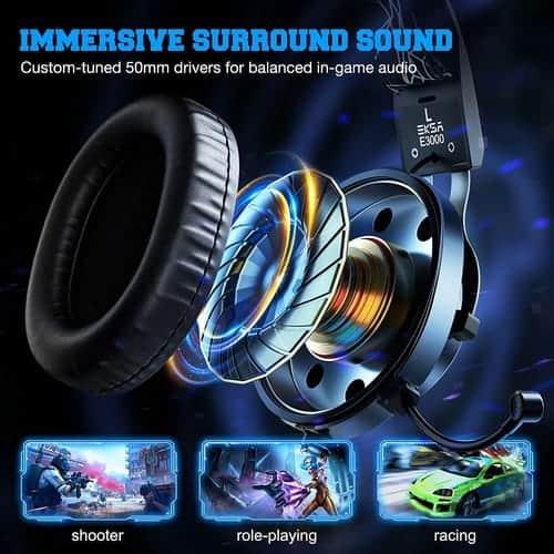 Immersive surround sound